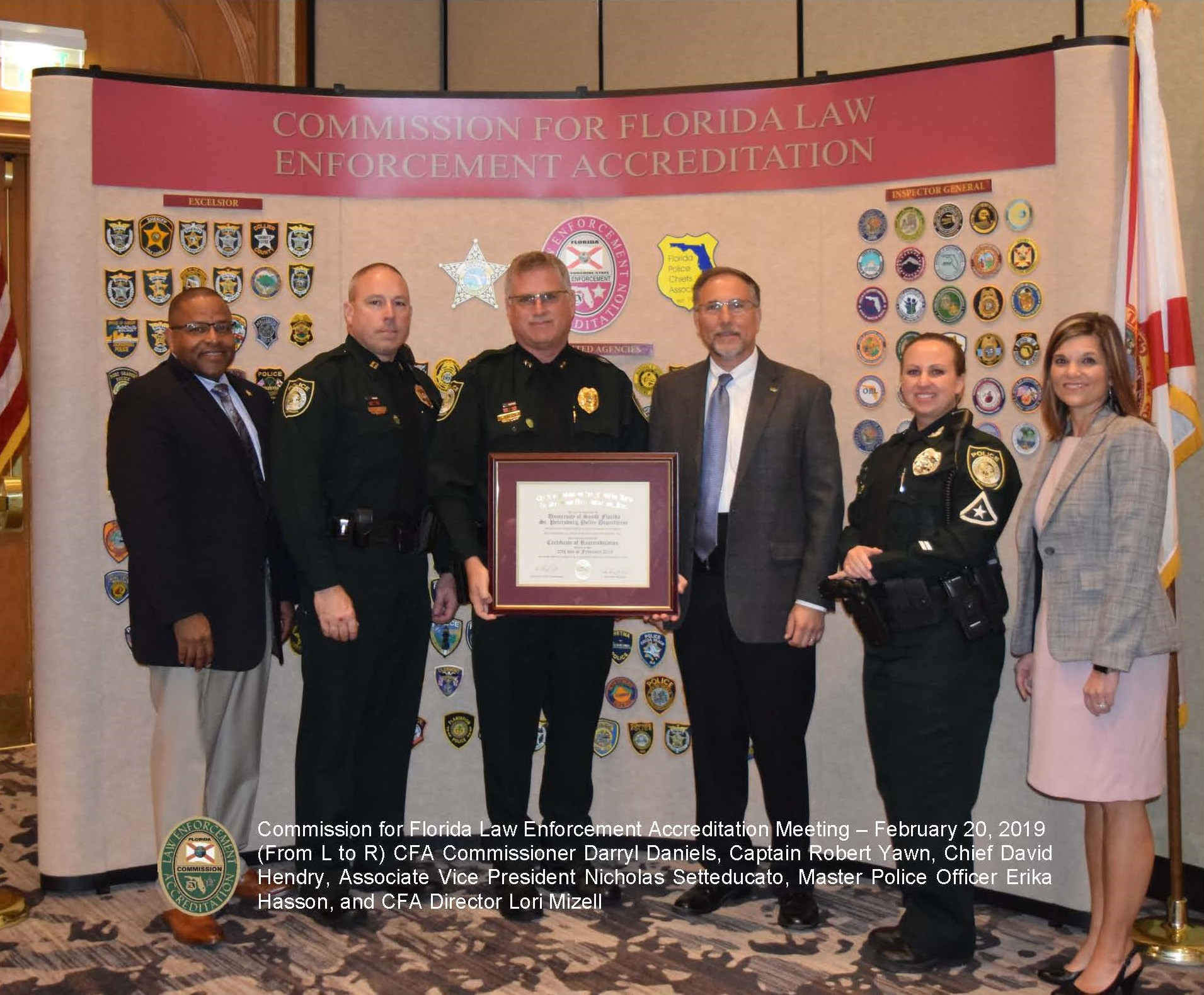 Police Department receiving accreditation