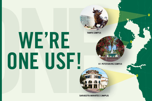 Three Campuses, One USF